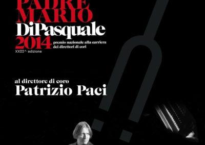 """Castelvecchio Subequo (AQ) – Premio Nazionale """"Padre Mario Di Pasquale"""" alla carriera di Direttore di Coro"""